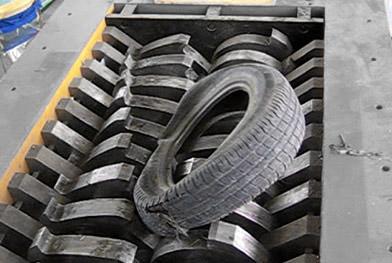 橡胶轮胎撕碎机让社会橡胶得到了更好的利